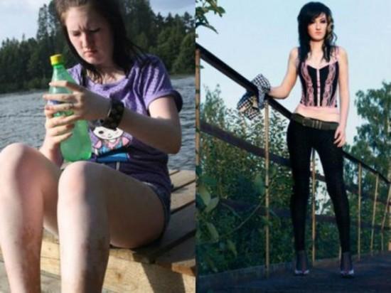 """""""Choáng"""" với những hình ảnh lột xác của các cô nàng sau... giảm cân 16"""