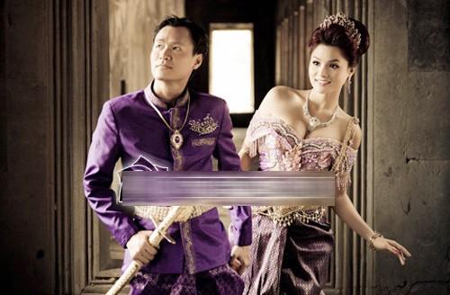 Ảnh cưới độc đáo của các cặp vợ chồng sao Việt 12