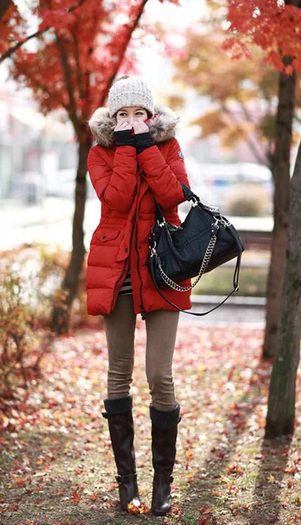 Áo cổ lông - món đồ không thể chối từ ngày đông 12
