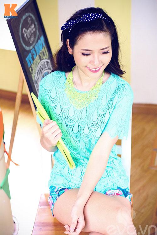 Một chiếc áo ren - 4 phong cách thời trang 12