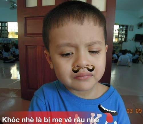 'Đột nhập' lớp mẫu giáo con sao Việt 14