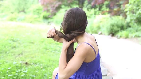 Tự thực hiện 3 kiểu tóc dịu dàng cho mùa thu 6