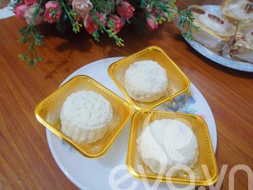 Tập làm bánh dẻo nhân đậu đỏ hạt sen 9