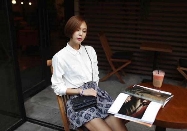 Những chiếc áo hè có thể tận dụng cho thời trang thu đông 15