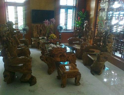 Những 'cục gỗ' tiền tỷ của đại gia Việt 1