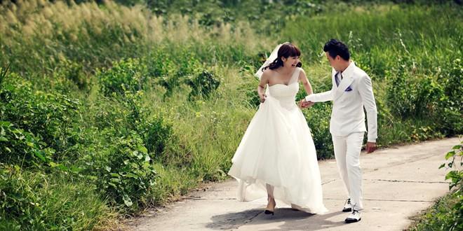 Ảnh cưới đẹp lung linh của Minh Hằng - Lương Mạnh Hải 3