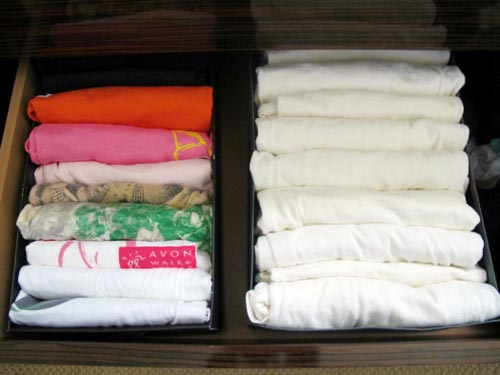 Mẹo xếp đồ trong tủ quần áo quá nhỏ 4