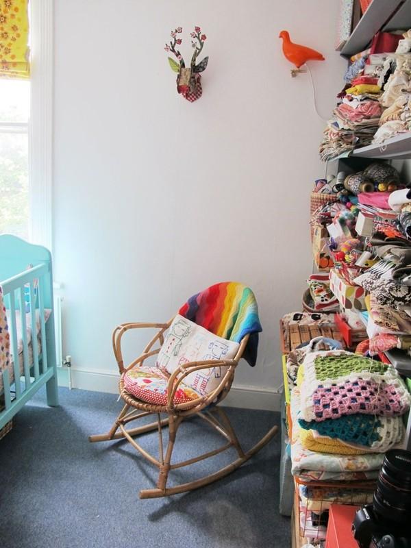 Ngắm căn hộ vintage đẹp như mơ nhờ tận dụng đồ cũ 27