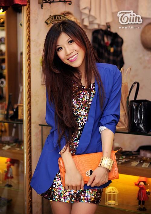 10 cách diện đẹp với blazer xanh 20