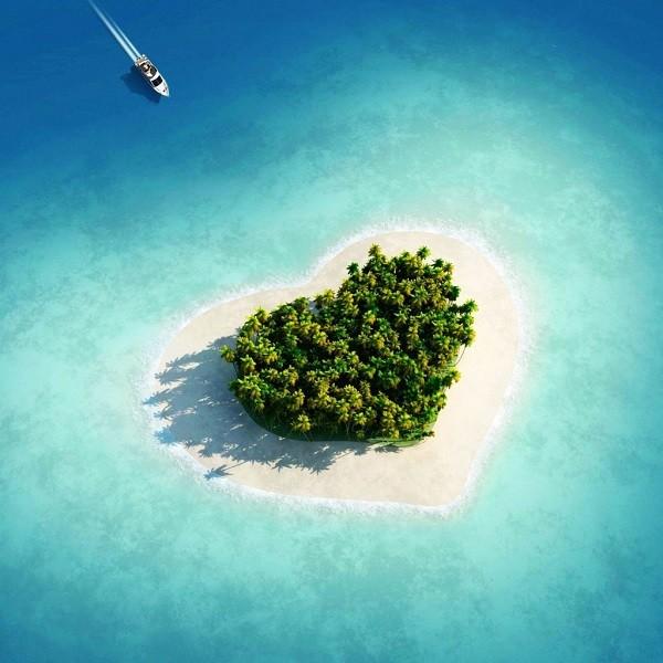 Những hòn đảo hình trái tim tuyệt đẹp trên thế giới 15