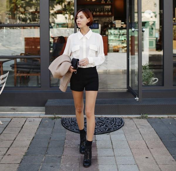 Những chiếc áo hè có thể tận dụng cho thời trang thu đông 12