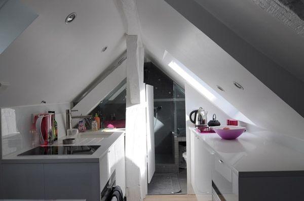 Ngắm căn hộ áp mái 16m² với cách bài trí siêu thông minh 1