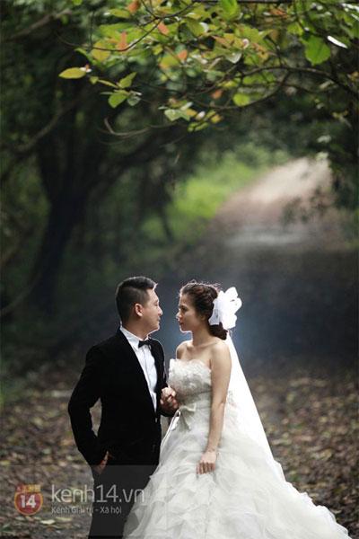 Mỹ Dung khoe ảnh cưới đẹp lung linh 7