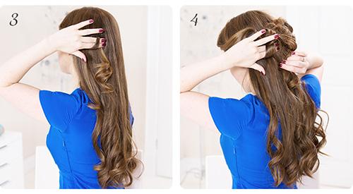 Mát trời học Midu búi tóc vintage 11