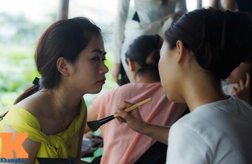 Hà Nội: Lên bà ngoại vẫn mặc yếm chụp ảnh sen 4