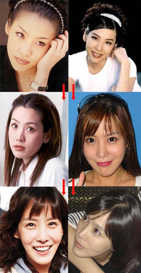 Khuôn mặt mỹ nhân Hàn biến đổi so với thời thiếu nữ 4