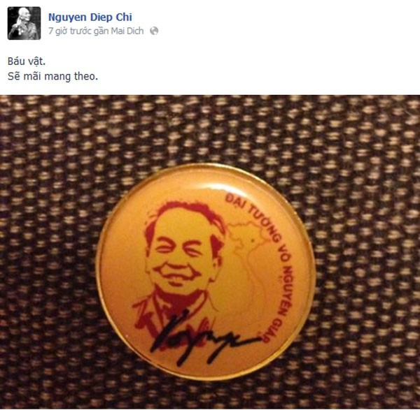 Nghệ sĩ Việt cảm động chia sẻ ảnh và kỷ niệm bên Đại tướng 3