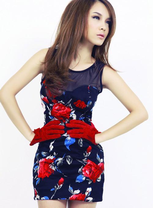 Quán quân Yến Trang đẹp từng centimet trong trang phục gợi cảm 4