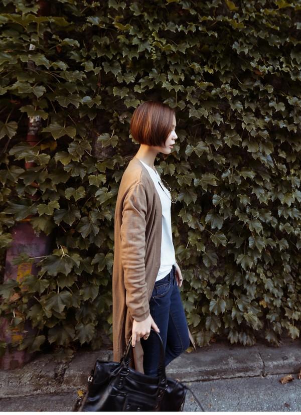 Mặc cardigan dáng dài phong cách, đủ ấm cho ngày se lạnh 3