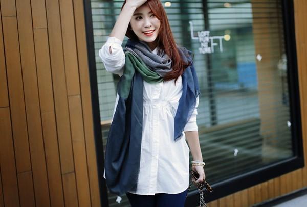 Những chiếc áo hè có thể tận dụng cho thời trang thu đông 9