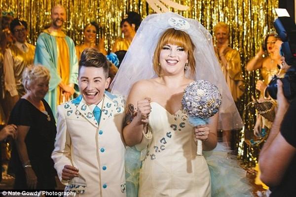 Chùm ảnh cưới đẹp long lanh của cặp đôi đồng tính Mỹ 3