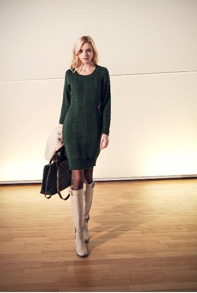 """Những mẫu váy len mùa đông 2013 đẹp """"ngút trời"""" 3"""