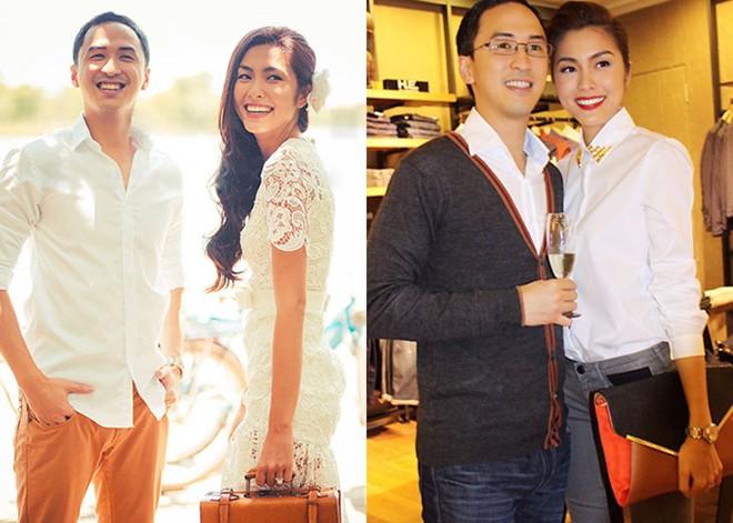 Những mỹ nhân Việt lấy chồng vừa giàu vừa điển trai 4