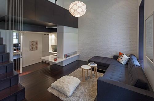 """Thiết kế tuyệt đối thông minh cho căn hộ """"bé tẹo"""" 4"""