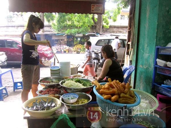 No căng với miến cua trộn phố Phùng Hưng 4