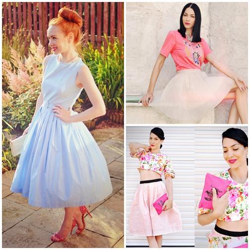 Những mẫu váy xòe đang 'tung hoành' làng thời trang 13