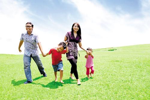 Kiếm đâu ra niềm vui gia đình? 1
