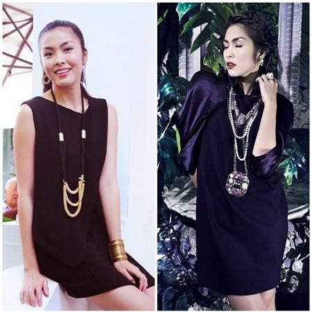 Sao Việt quyến rũ với váy suông 9