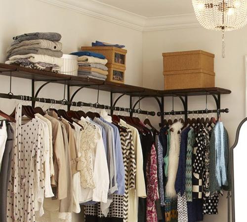 Chiêu xếp quần áo siêu gọn cho mẹ đảm 4