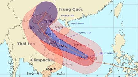 Sở GD Hà Nội, Nam Định gửi công điện khẩn chống bão Haiyan 1