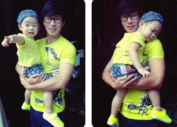 Con trai Lý Hải càng lớn càng điển trai 32