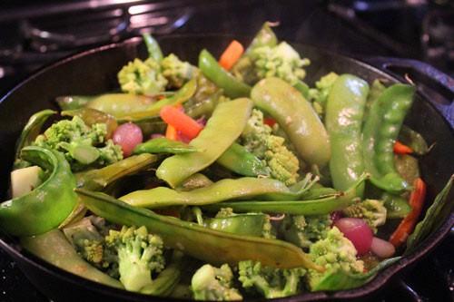 Ngon cơm với rau xào thập cẩm mùa đông 2