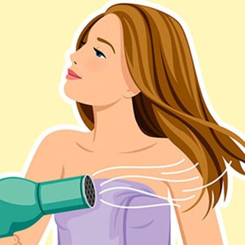 """5 phút """"làm mới"""" tóc bết mồ hôi dầu cho quý cô bận rộn 6"""