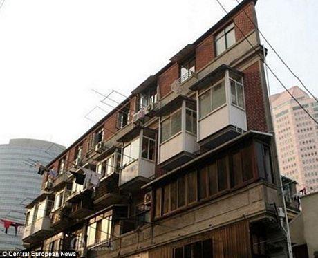 Ngắm ngôi nhà... không thể mỏng hơn ở Trung Quốc 4