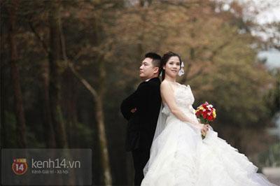 Mỹ Dung khoe ảnh cưới đẹp lung linh 8
