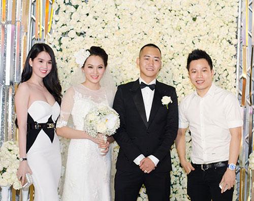 Ngọc Thạch tổ chức tiệc cưới ấn tượng tại Hà Nội 11