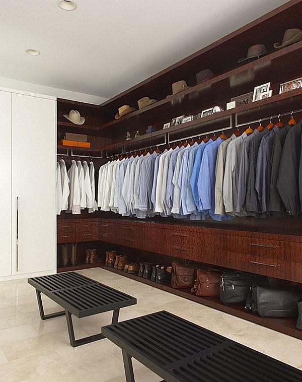 Mẹo sắp xếp tủ quần áo tiện dụng và ấn tượng 2