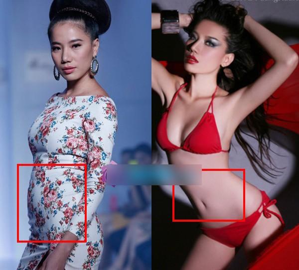 Mỹ nhân Việt 'một trời một vực' trước và sau photoshop 8