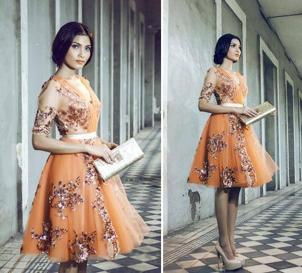 Gu thời trang đẹp lạ của Trương Thị May 5