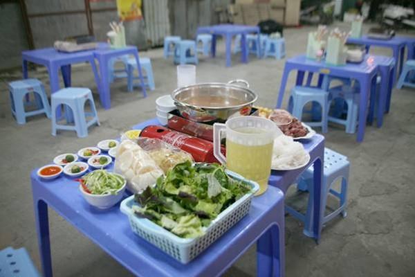 Lẩu riêu ngao bắp bò phố Nghĩa Tân 1