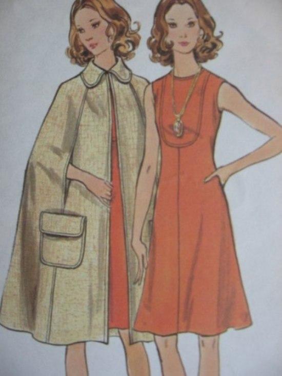 Phong cách quý tộc với áo Cape 1