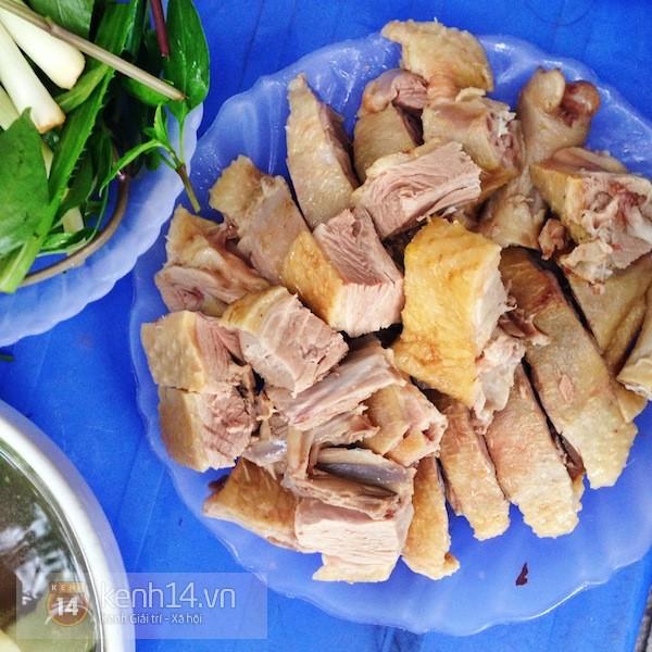 Hà Nội: Trời hanh hao đi ăn bún ngan phố Hàng Phèn 4