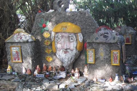 """Cận cảnh """"nghĩa địa đầu người"""" tại Tây Ninh 6"""