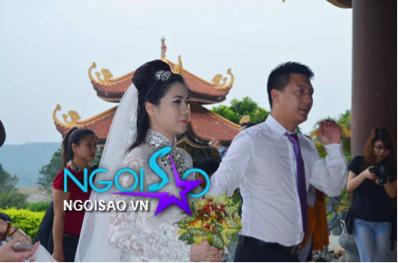 Lễ cưới theo nghi thức Phật giáo của ca sỹ Mỹ Dung 3