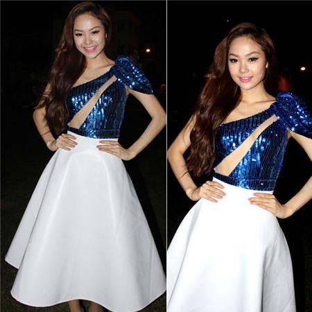 Ngắm phong cách thời trang ngọt ngào của Minh Hằng 1