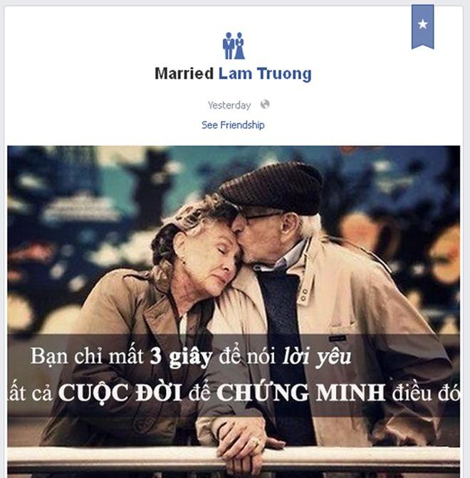 Nghi án Lam Trường đã kết hôn 1